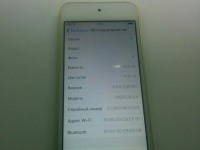 Apple iPod Touch 5G 16Gb Yellow