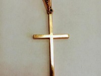 Крест Золото 585 (14K) вес 2.28 гр.