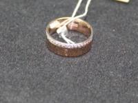 Кольцо об. Золото 585 (14K) вес 3.69 гр.