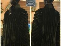 Шуба норка 42раз.короткая,черная