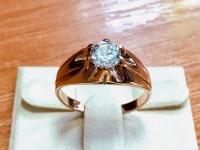 Кольцо Золото 585 (14K) вес 3.55 г