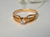 Кольцо 1П 2908 Золото 585 (14K) вес 2.68 г