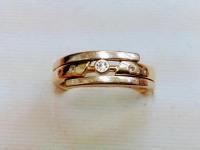 Кольцо  Золото 585 (14K) вес 3.41 гр.