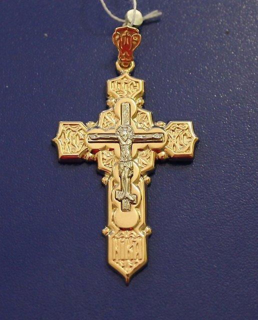 Крест Золото 585 (14K) вес 7.56 гр.