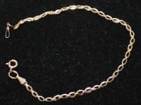 Браслет колосок Золото 585 (14K) вес 1.26 г