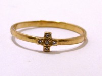 Кольцо 1Н 8547 Золото 585 (14K) вес 0.95 гр.