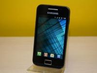 Телефон Samsung Galaxy Ace GT-S5830, только трубка, черный, царапины по корпусу, Т-33