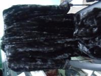 Шуба норка кусковая размер 46-48