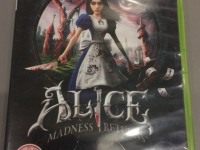 Диск Alice Madness Returns для XBOX 360