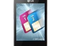 Телефон LG T375 white/black