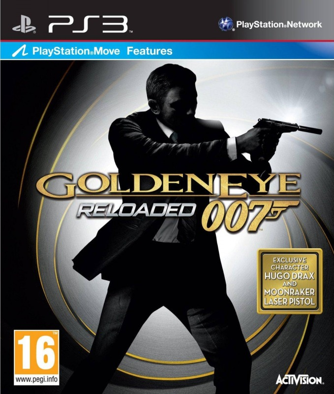 Диск PS 3  GoldenEye 007