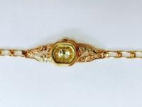 Часы женские с браслетом Золото 585 (14K) вес 22.66 г