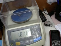 Кольцо с мелкими синт. вст. Золото 585 (14K) вес 1.81 г