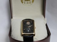 Часы miyota 2117 Президент русское время(докум,коробка)